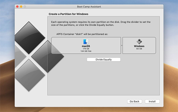 MAC Users Can Partition Their Operating Systems to Windows