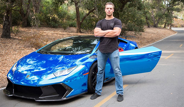 Tanner J Fox Review - Tanner J. Fox with Car