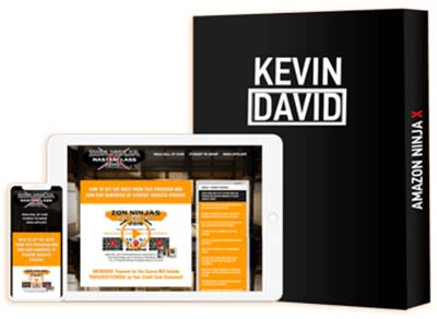 An image showing the online course of Kevin David on Iphone, Tablet Screens.