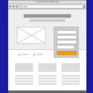 An image of Landing Page